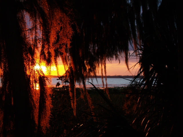 Sunset South of Hawthrone