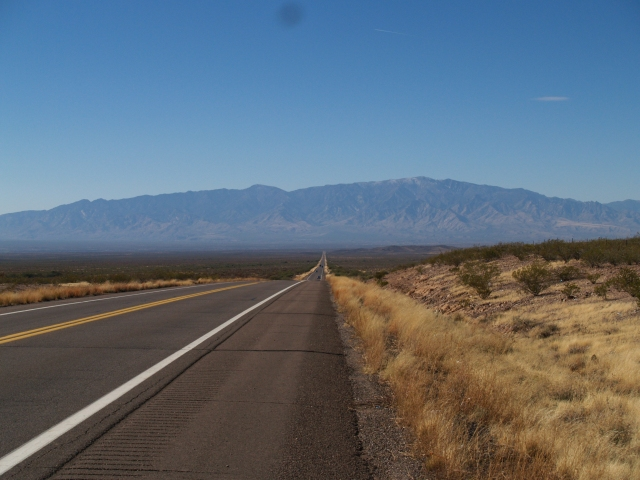 Heading into Safford, Arizona