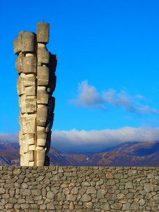 Monument outside of Rijeka