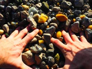 Amazing pebble beaches in Opatija