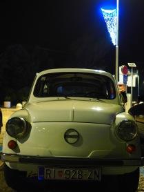 Tiny car in Opatija